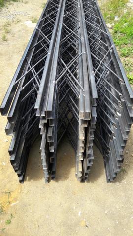 Treliças de ferro U Cobertura terraço Serralheiro
