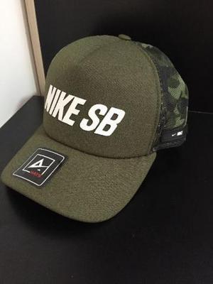 Boné Trucker Tela Redinha Nike, Adidas - Vários modelos