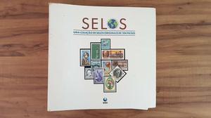 SELOS - Uma coleção de selos originais de 104 países -