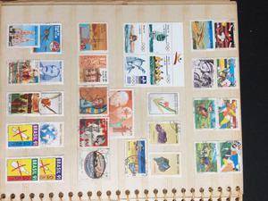 Álbum com selos