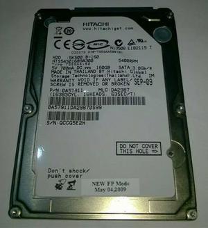 HD notebook 160gb