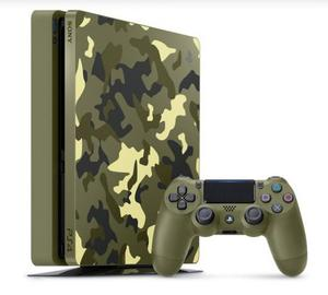 PS4 Slim Call Of Duty WWII + Jogo