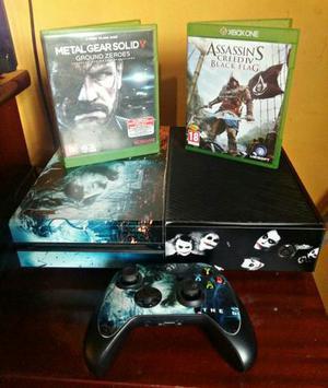Vendo Xbox one com 2 jogos e 1 controle