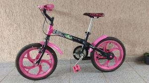 Bicicleta Caloi Monster High Aro 16 Preta - Feminina -