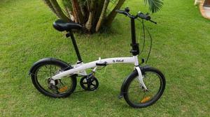 Bicicleta Dobravel B Fold 5 - Bike com 6 marchas - Cadeado -