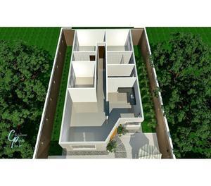 Projetos em 3D de plantas decoradas e fachadas comerciais
