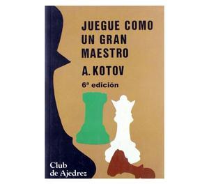 4 Livros de Xadrez em Espanhol - Club de Ajedrez - Kotov