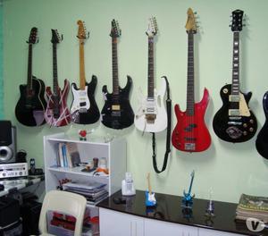 Aula de Violão Guitarra Teclado Baixo Cavaco