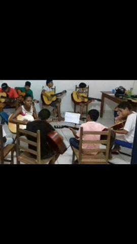 Aula de Violão, Guitarra e Contrabaixo