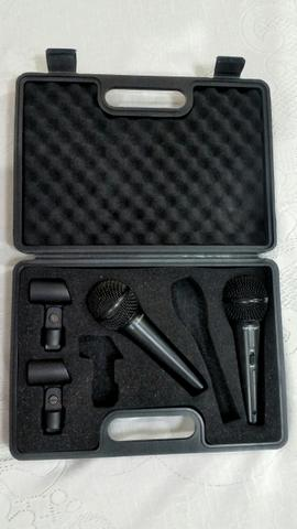 Kit 2 Microfones Behringer XMS