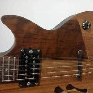 Guitarra caipira semi acústica