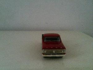 1/43 ford F vermelha