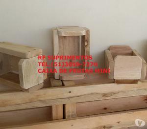 Caixa fruta - palete - pallets - embalagens - expostação