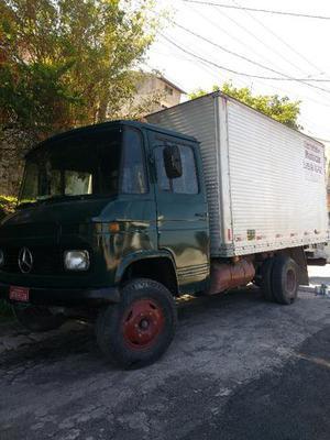 Caminhão MB 608 ano 85 bau lindão -