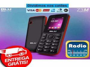 Celular Blu 2 Chips Z3M Dual Sim Com Garantia - Novo -