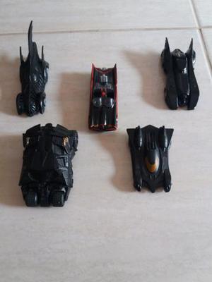 Coleção de carrinhos do Batman