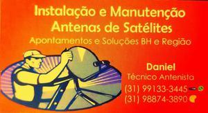 Instalação de Antenas em Geral, BH e Região