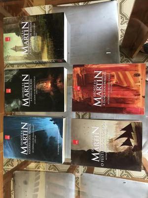 Coleção de livros Game of Thrones