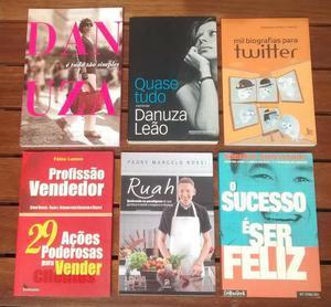 Combo Livros Diversos (Shinyashiki, Padre Marcelo, Twitter,