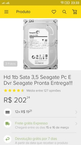 Hd 1tb Sata 3,5 Seagate Pc E Dvr Seagate