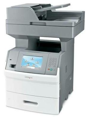 Impressora laser multifuncional lermark X656. lote com 20