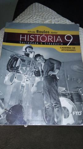 Livro de história de atividade 9 ano