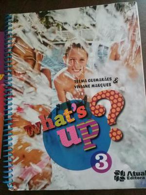 Livro de inglês -What's up 3