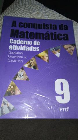 Livro de matemática de atividade 9 ano