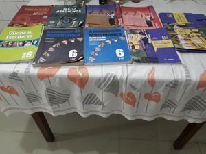 Livros Didáticos 6° Ano Fundamental