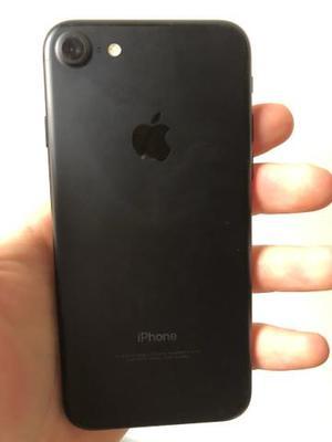 Iphone 7 preto 128gb em estado de zero na garantia Apple
