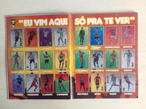 CAMPEONATO BRASILEIRO  Album de figurinhas Capa Dura