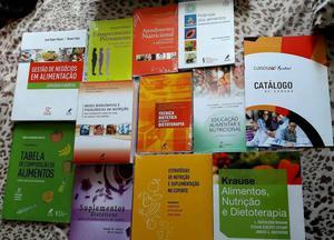 Coleção de livros Nutrição