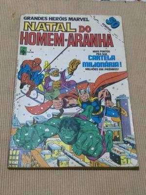 Lote de gibis Grandes Heróis Marvel - Formatinho Ed.Abril