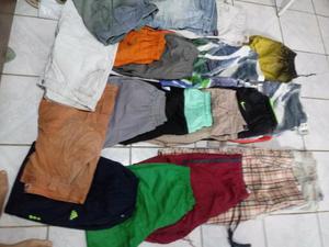 Lote de roupa masculina