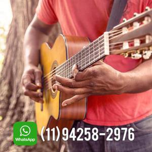 Aulas de Violão e Guitarra à Domicílio
