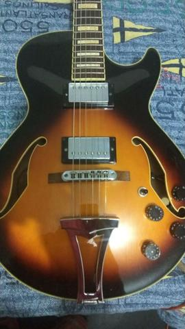 Guitarra Semi Acustica Ibanez Ag75 Impecavel (Piracicaba)
