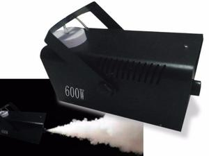 Maquina de fumaça 600w, com controle sem fio