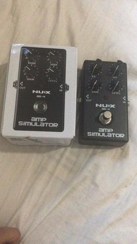 Pedal amp simulator as4