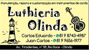 Serviços de luthieria em Olinda & Proximidades