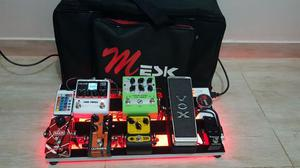 Set De Pedais C/ Pedalboard E Softbag Led