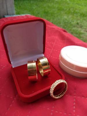 Alianças de moedas antigas + kit anel aparador
