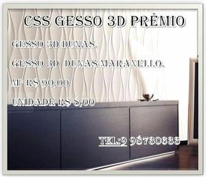 CSS Gesso 3D prêmio! 100% qualidade para seu painel