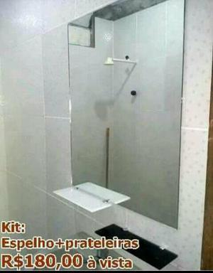 Confira nossas promoções Kit espelho, box p/ Banheiro,