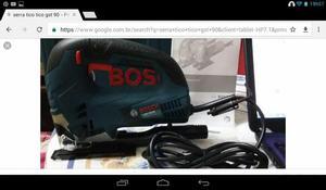 Excelente serra tico tico Profissional Bosch