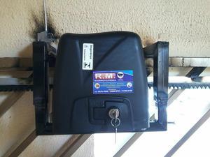 Portão eletrônico Rossi instalado