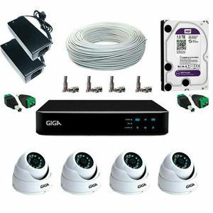 Câmeras de Segurança - Residencial / Condomínio / Lojas /