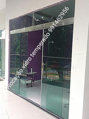 Portas janelas box pronta entrega na promoção vidraçaria