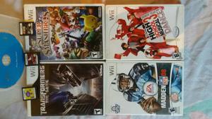 Jogos de Nintendo Wii e DS