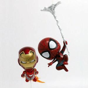 Miniatura Homem de Ferro e Homem Aranha