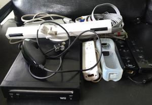 Nintendo Wii Black desbloqueado